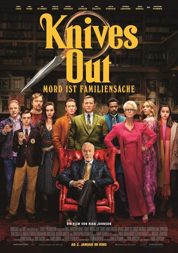 "Kinofilm ""Knives Out"""
